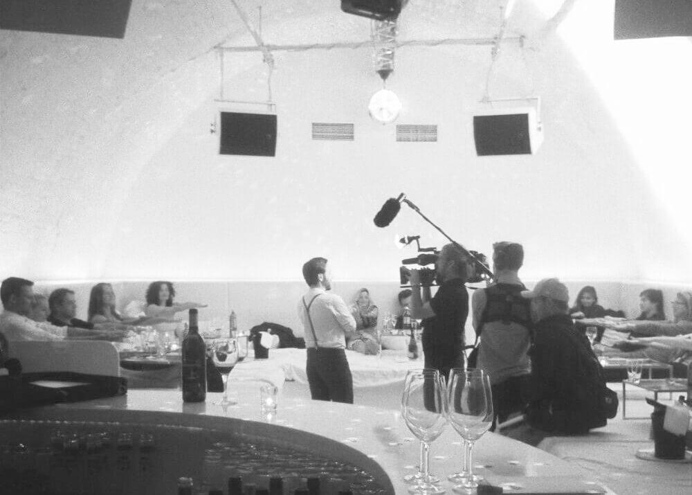 Referenzen Osman hier mit Kamera Team im NEKTAR München