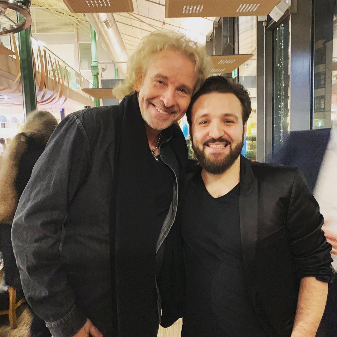 Zauberer Osman mit Thomas Gottschalk